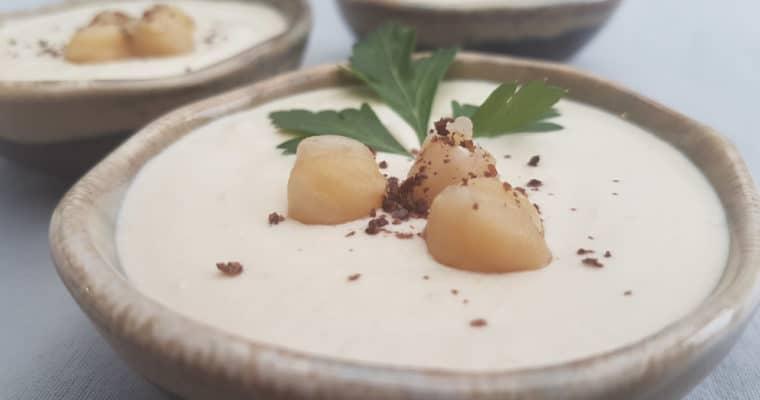 Houmous Libanais – purée de pois chiches au tahin
