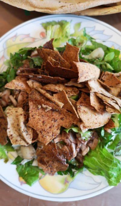 Fattouche – salade libanaise au sumac